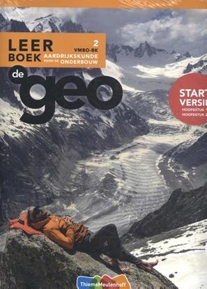 Afbeeldingen van De Geo (set) 2 vmbo-bk aardrijkskunde voor de onderbouw Leerboek