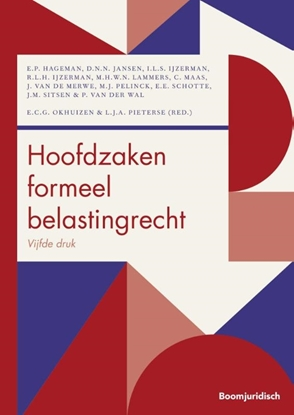 Afbeeldingen van Boom fiscale studieboeken Hoofdzaken formeel belastingrecht
