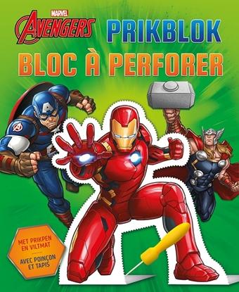 Afbeeldingen van Avengers prikblok / Avengers bloc à perforer