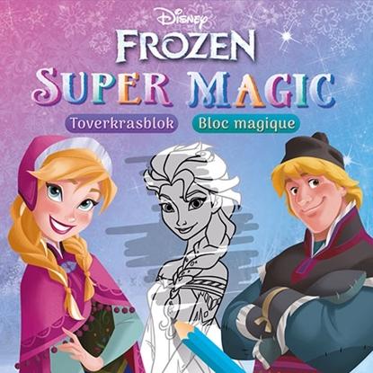 Afbeeldingen van Disney Frozen Super Magic Toverkrasblok/ bloc magique