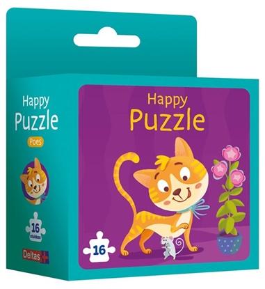 Afbeeldingen van Happy puzzle - poes