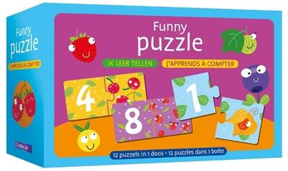 Afbeeldingen van Funny puzzle - ik leer tellen / Funny puzzle - j'apprends à compter