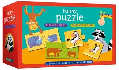 Afbeeldingen van Funny puzzle - mama en baby / Funny puzzle - mamans et bébés