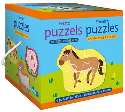 Afbeeldingen van Eerste puzzels - boerderijdieren / Premiers puzzles - animaux de la ferme