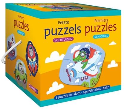 Afbeeldingen van Eerste puzzels - voertuigen / Premiers puzzles - véhicules