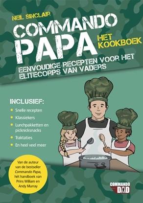Afbeeldingen van Commando papa-het kookboek