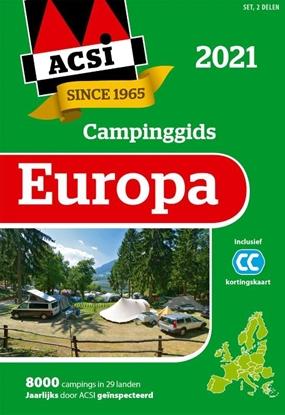 Afbeeldingen van ACSI Campinggids ACSI Campinggids Europa 2021