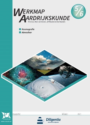 Afbeeldingen van Werkmap Aardrijkskunde 5/6 Kosmografie en Atmosfeer