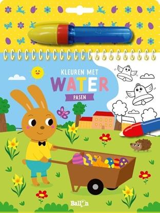 Afbeeldingen van Kleuren met water - Pasen