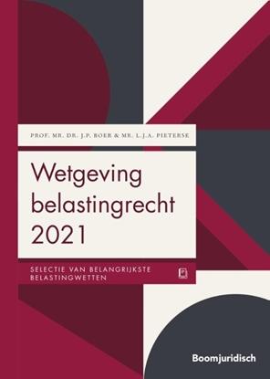 Afbeeldingen van Boom Juridische wettenbundels Wetgeving belastingrecht 2021