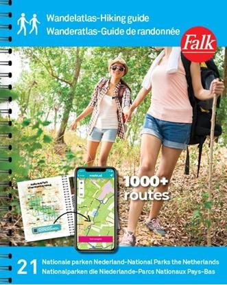 Afbeeldingen van Wandelgids Falk Wandelatlas Nederland