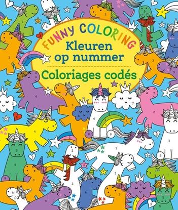 Afbeeldingen van Funny Coloring - Kleuren op nummer / Funny Coloring - Coloriages codés